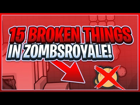How to Heal in VIP Mode!?!?   15 Things That Should be Patched in Zombs Royale