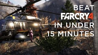 Beat Far Cry 4 In Under 15 Minutes *spoilers*