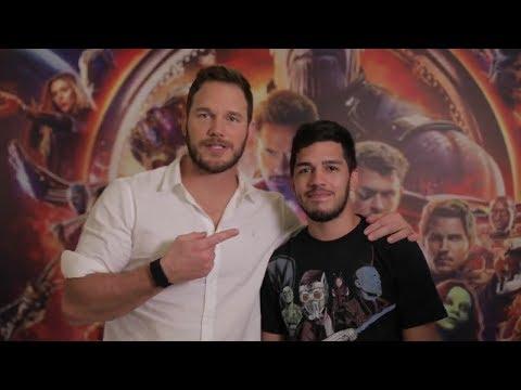 Avengers: Infinity War | Chris Pratt Surprises Brazilian Fans