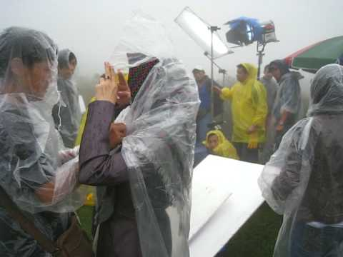[MV花絮]面對惡劣的天氣 愉慧苦中作樂