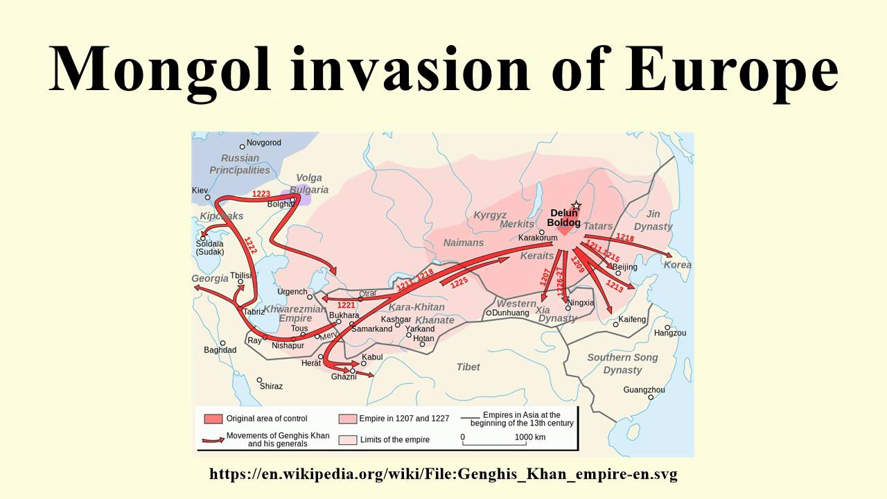 mongol invasion of europe Mongol invasion of europe has been listed as a level-5 vital article in history if you can improve it, please dothis article has been rated as b-class this article is of interest to the following wikiprojects:.