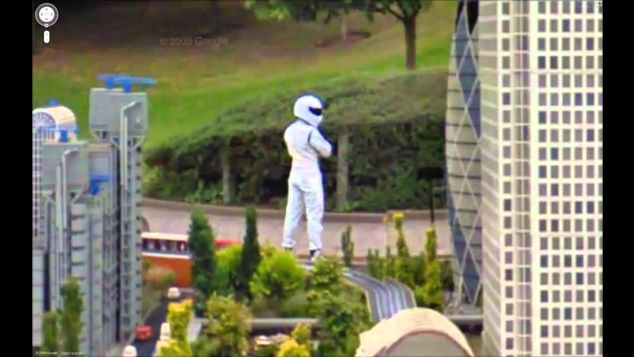 The Stig on Google Maps and Google Earth (street view) HD ...