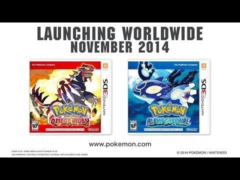 Download Youtube: Pokémon Alpha Sapphire/Omega Ruby - Announcement Trailer