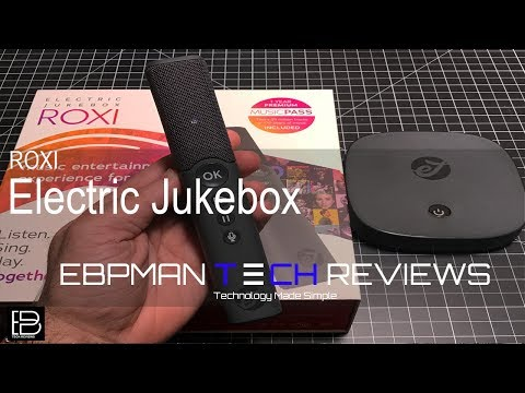 Roxi Electric Music Streaming JukeBox Review! $50 discount code included!  Karaoke Box!