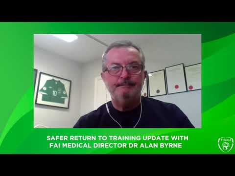 FAI Medical Director gives update on Safer Return to Training