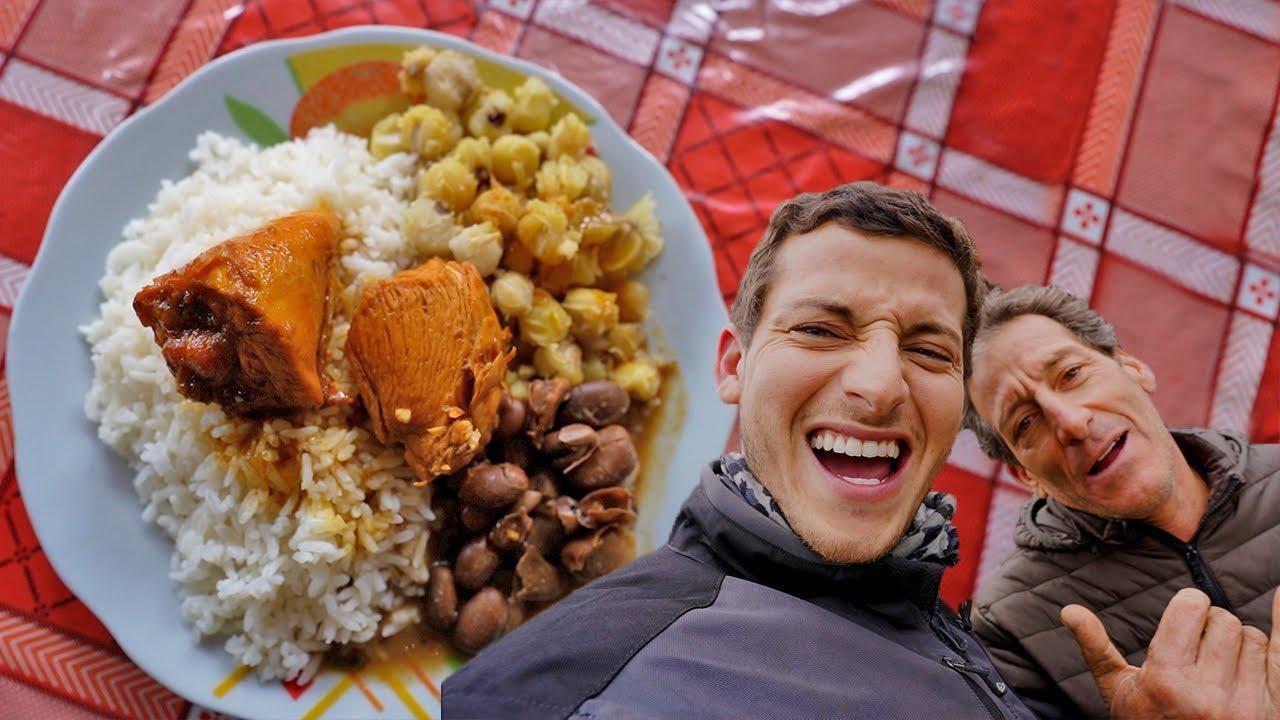 Probando Comida en el pueblo del Curanderismo, Huancabamba