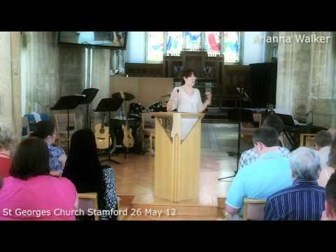 Arianna Walker pt1 at St Georges Church, Stamford, Lincs