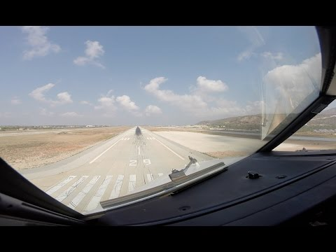 Approach and Landing runway 29 Chania Souda (CHQ LGSA)