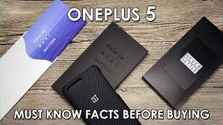 Oneplus 5: Must know things before you buy! Pros & cons. Specifications & comparison with flagships