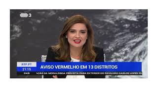 PORTUGAL TENPESTADE LESLIE (13 OCTUBRE 2018)