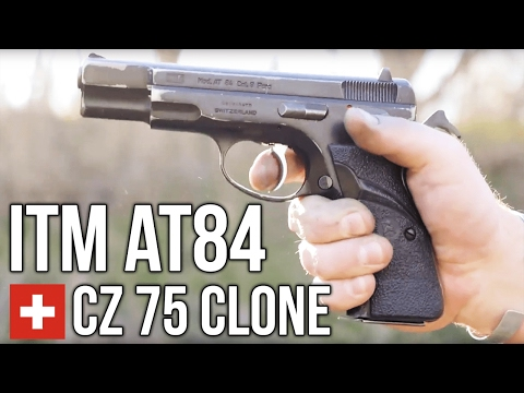 The ITM AT84: A Swiss Made CZ 75 - YouTube