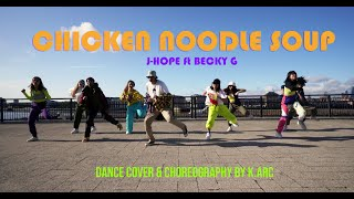 [KPOP IN PUBLIC LONDON] Chicken Noodle Soup - j-hope ft. Becky G Dance Cover | K.ARC PROJECT