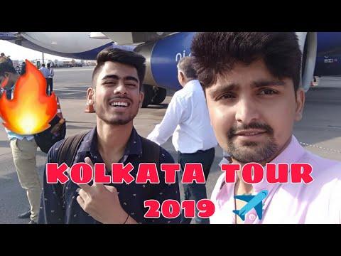 #vlog - 5   First Time Visit To Kolkata By Flight ✈️  Kolkata Tour 2019 Day 1