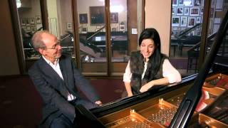 AyseDeniz Interview with Classic FM's John Brunning on Pink Floyd and Liszt