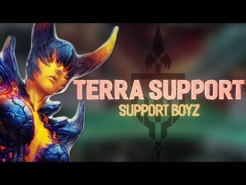 TERRA SUPPORT: SUPPORT MAIN TERRA GAINS – Incon – Smite