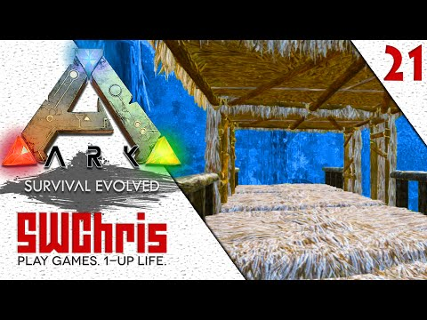 ARK Survival Evolved Gameplay :: Building an Endor Landing Platform :: IronMine S2E21