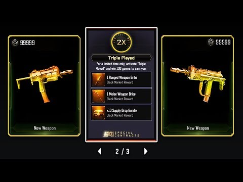 """100/100 WINS! UNLOCKING MSMC & OLYMPIA """"NEW DLC WEAPONS"""" in BLACK OPS 3 - BO3 SUPPLY DROP OPENING"""