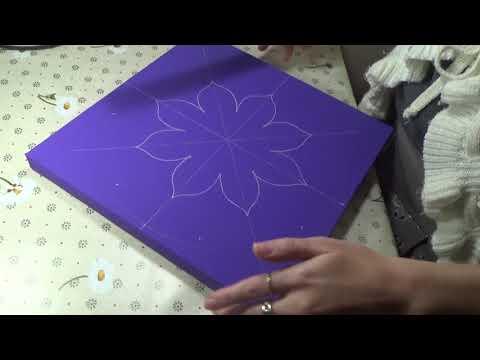 Dot painting mandala Acrylic Painting Preview design