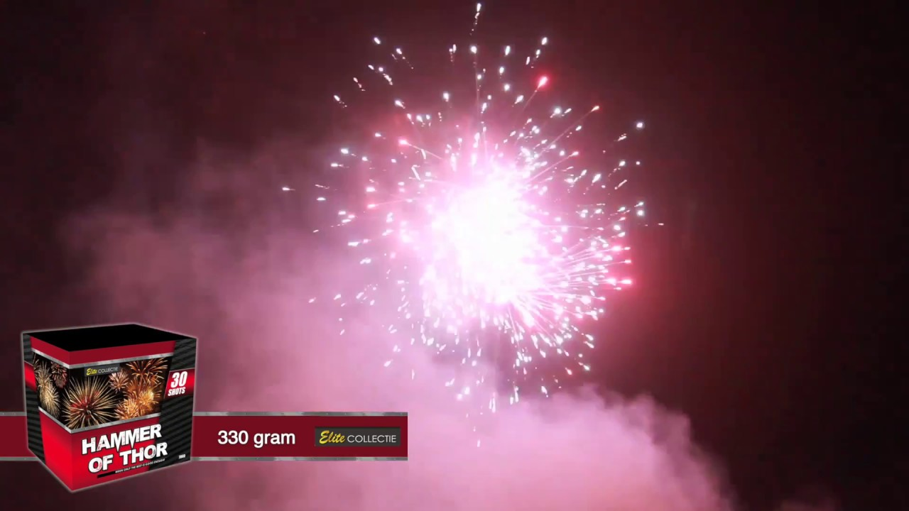 7040 hammer of thor elite mooij vuurwerk youtube