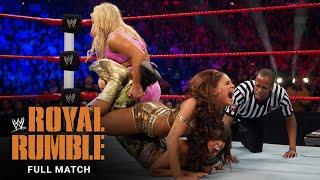 FULL MATCH- Natalya vs. McCool vs. Layla vs. Eve - Divas Title Fatal 4-Way Match: Royal Rumble 2011