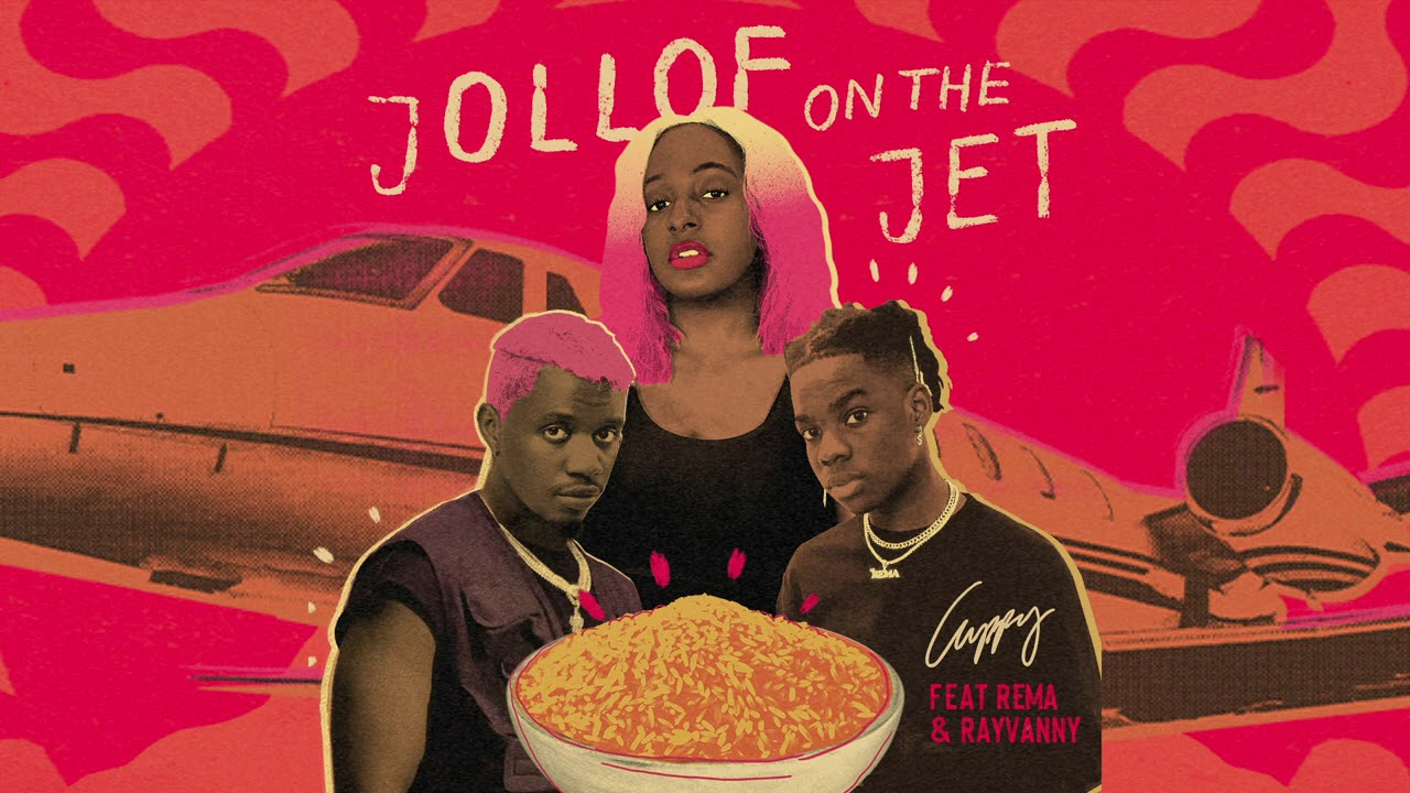 Download Cuppy - Jollof On The Jet Ft. Rema & Rayvanny (Official Audio)