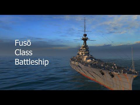 Warship History - Fusō class battleships