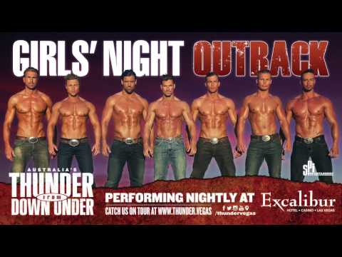 Australia's Thunder From Down Under - SIZZLES 2015