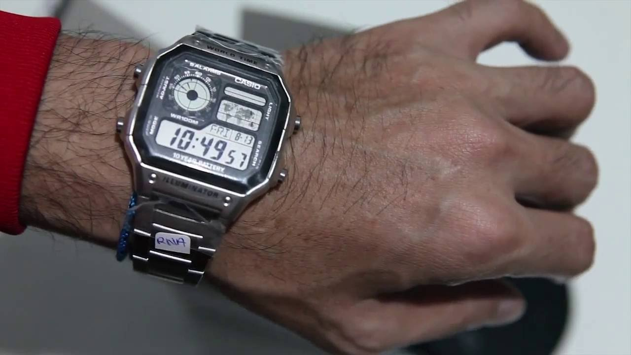 f36544ba237 Casio AE 1200WHD 1AV - YouTube