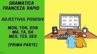 Adjectivul posesiv in limba franceza (1) - Gramatica franceza (2018)
