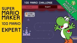 Super Mario Maker   100 Mario Challenge   Expert & Super Expert