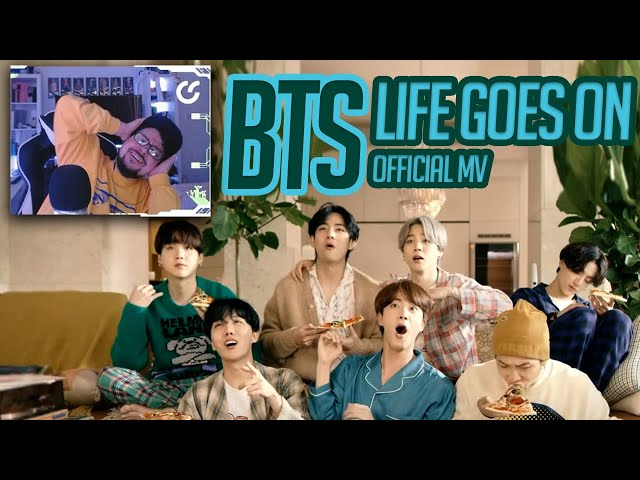 Mikey Reacts to BTS (방탄소년단) 'Life Goes On' Official MV