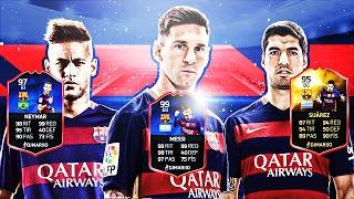 PLANTILLA PERFECT BARCELONA | Ultimate Team FIFA 16 | DjMaRiiO