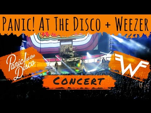 Panic! At The Disco and Weezer at Nikon Jones Beach Theater in New York - Vlog 4