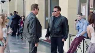 Супер реклама - Терминатор Арнольд Шварценеггер (commercials)(Креативная реклама - СУПЕР рекламный ролик Терминатор Генезис - Арнольд Шварценеггер (Arnold Schwarzenegger - creative..., 2015-07-31T07:03:42.000Z)