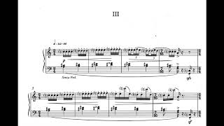 Manos Hadjidakis - Ionian Suite for Piano [Score-Video]