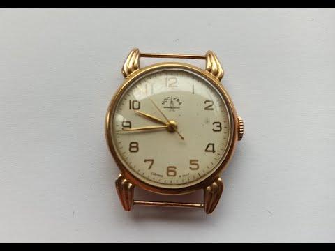 Золотые часы Москва 1МЧЗ ссср 11 грамм золота