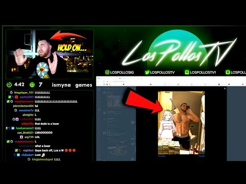 LosPollosTv Roasting & Rating His Fans On Stream Again!