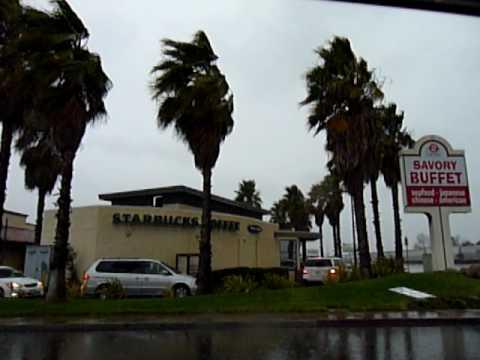 Rain and Wind in Southern California