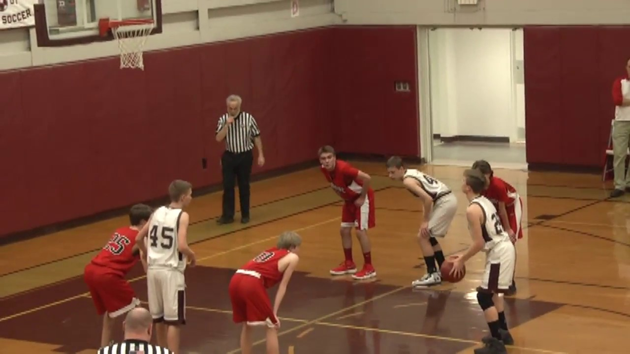 NCCS - Saranac Lake JV Boys  2-12-18