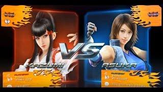 tekken7 kazumi maro vs asuka eri 鉄拳7 철권7 korea online battle