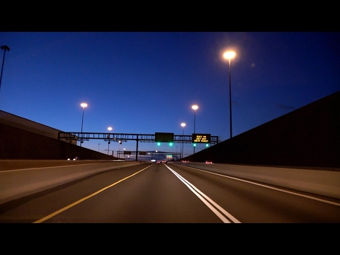 Baltimore, Maryland: I-95, I-395, Fort McHenry Tunnel