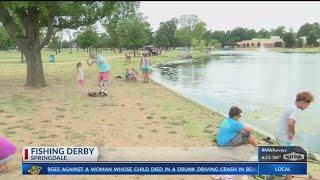 Kids Fishing Derby in Springdale (KNWA)