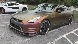 620HP Nissan R35 GTR w/Fabworks Exhaust System!