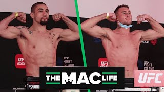 Robert Whittaker vs. Darren Till Official UFC Weigh-Ins