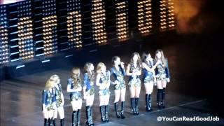 Girls' Generation  Snsd  English Introduction  Fancam  Smtown New York 11102