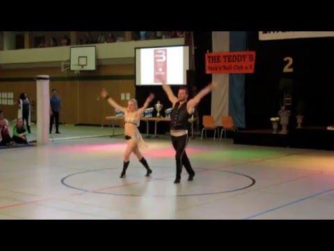 Bayerische Meister 2016: Franziska Schmidt & Paul Weiland