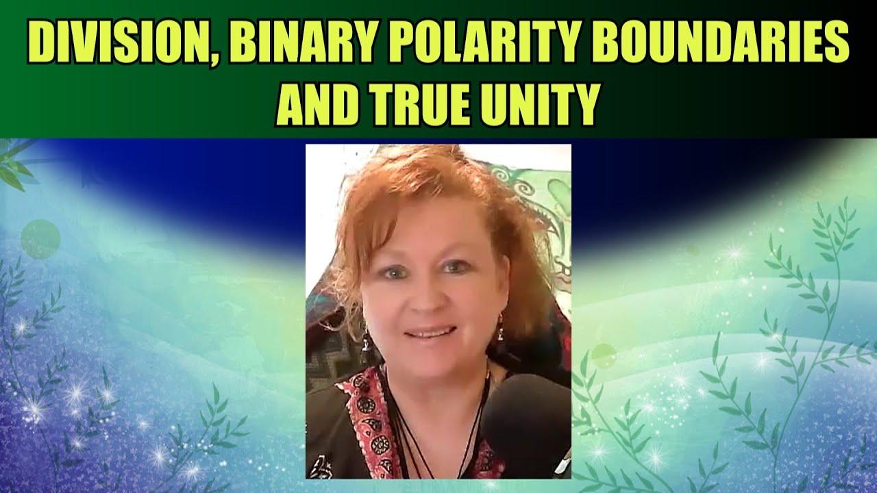 Division, Binary Polarity Boundaries and True Unity
