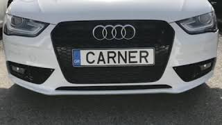 Κεντρική Μάσκα για Audi A4 B8 Facelift RS4 Type
