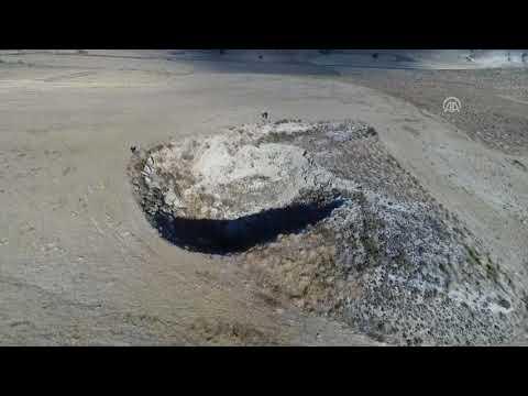 Çankırı'da 'Obruklu köy'ün sakinleri taşınmayı bekliyor