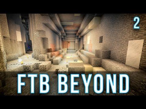 Early Game Mining | FTB Beyond | Episode 2